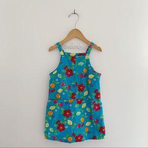 OSHKOSH B'GOSH Vintage Citrus Floral Shift Dress
